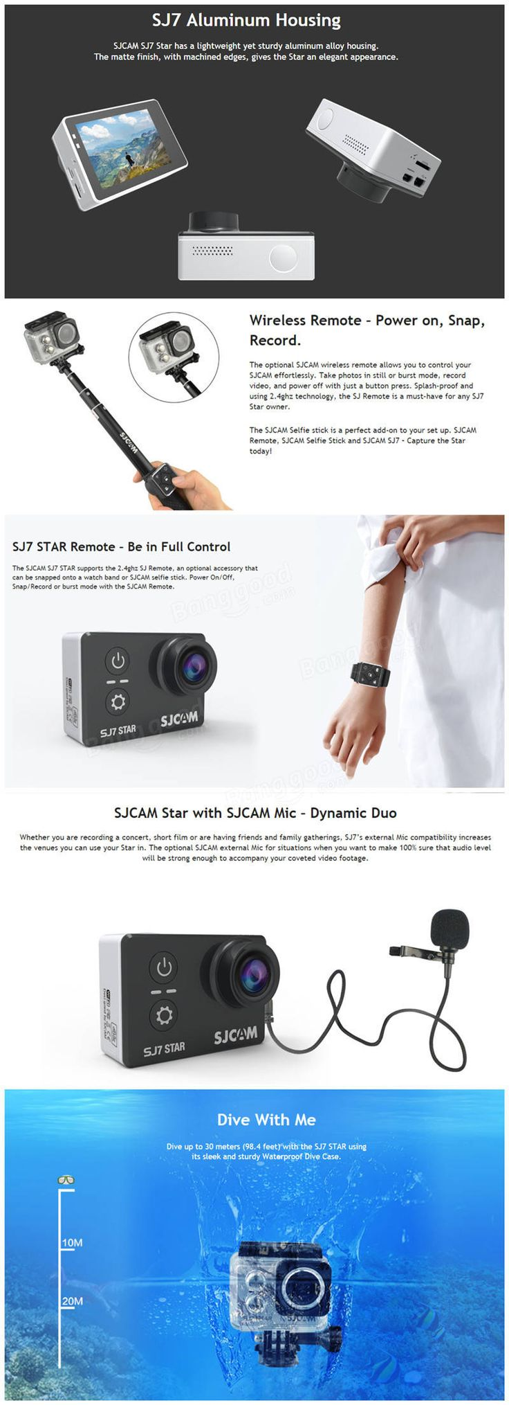 SJCAM SJ7 STAR 4K WIFI Action Camera IMX117 CMOS 2.0 Inch LCD Sport DV Ambarella A12S75  https://www.banggood.com/SJCAM-SJ7-STAR-4K-WIFI-Action-Camera-SONY-IMX117-CMOS-2_0-Inch-LCD-Sport-DV-Ambarella-A12S75-p-1087999.html?p=SF1215375298201312PR