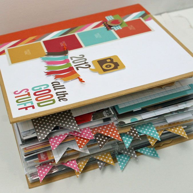 Snap inspiration... I won one of these albums at Craft Warehouse - I can't wait to start decorating it!