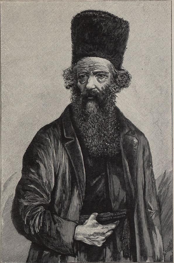 Illustration Rabbiner