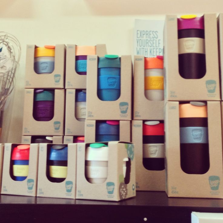 New KeepCup Colours at Knifewear YYC