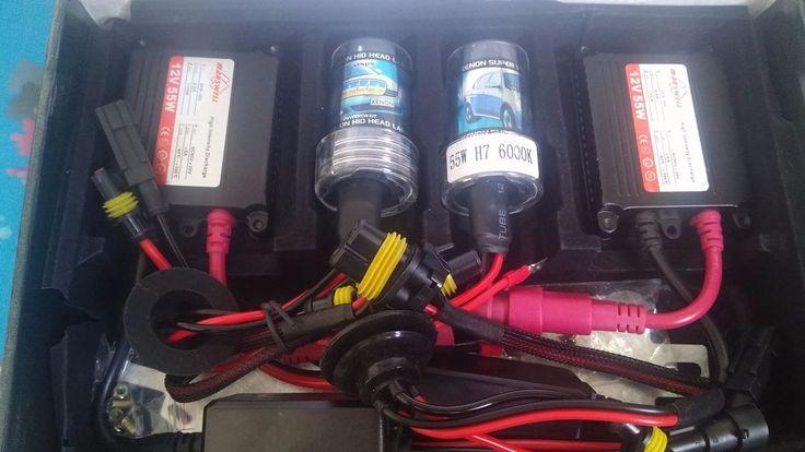 Xenon H7 55w Bulbs H7 Hid Headlight Kit 6000k Conversion 12v -FREE SHIPPING | eBay Motors, Parts & Accessories, Car & Truck Parts | eBay!