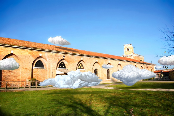 """Cai Zhisong """"Cloud"""". 54th Venice Biennale 2011"""