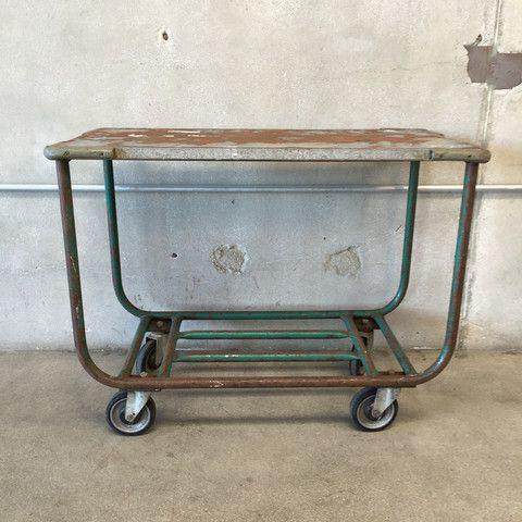 Heavy Duty Metal Utility Cart (#6555) – UrbanAmericana