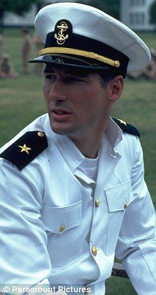Richard Gere in An Officer and A Gentleman ... Mmmmm Mayo-nnaise