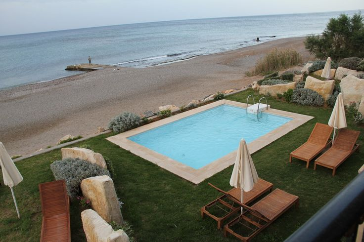 Aquila Rithymna Beach Deluxe Junior  Villa Sea view with private Pool