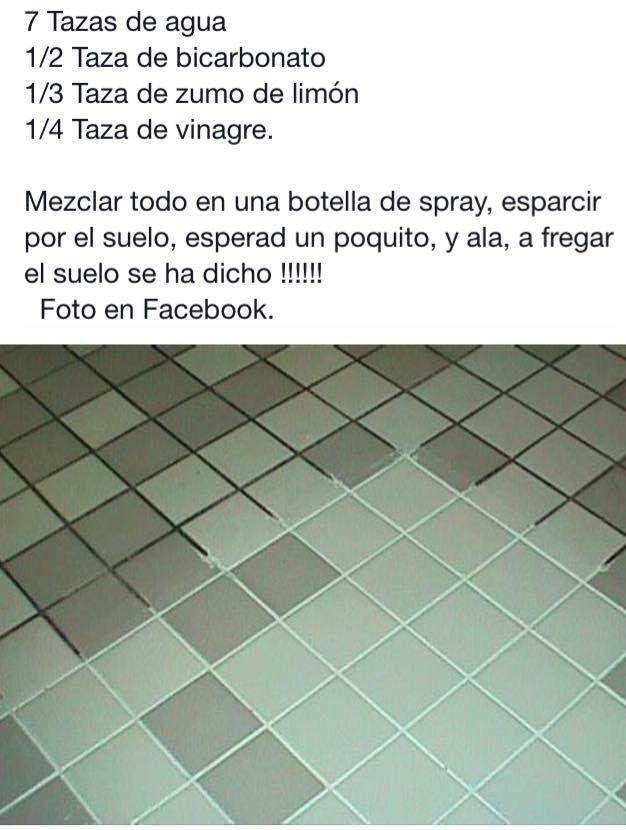 A lavar los pisos!