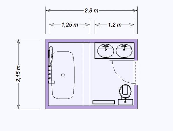 mini salle de bain 6 m2 salle de bain pinterest. Black Bedroom Furniture Sets. Home Design Ideas