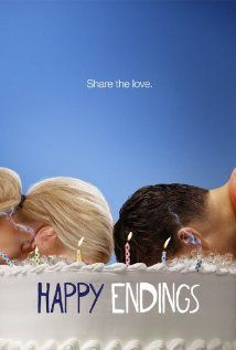 HAPPY ENDINGS: I had low expectations, but now it's one of the dopest shows on my comedy sitcom lists. Promise.