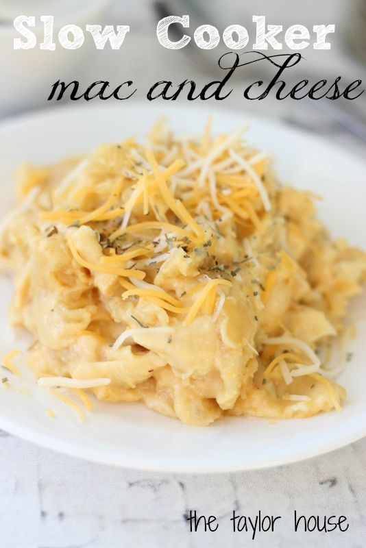 Slow Cooker Mac and Cheese...oh my YUM!!!!