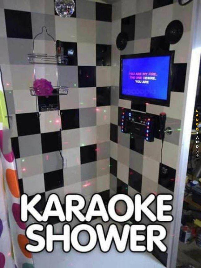 Karaoke Shower