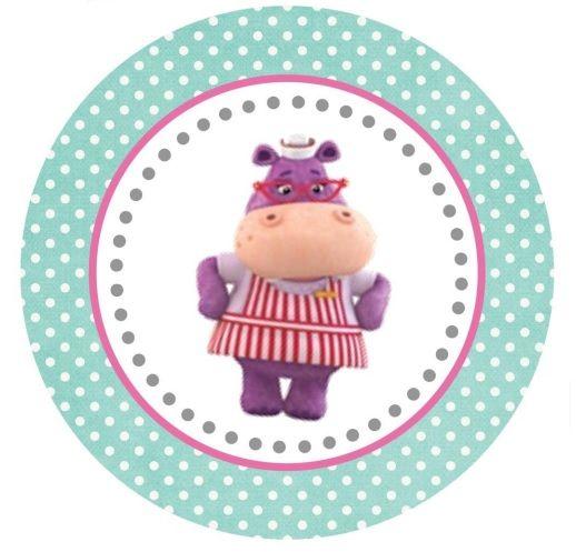 Hallie Large Tag or Cupcake Topper (free Printable)