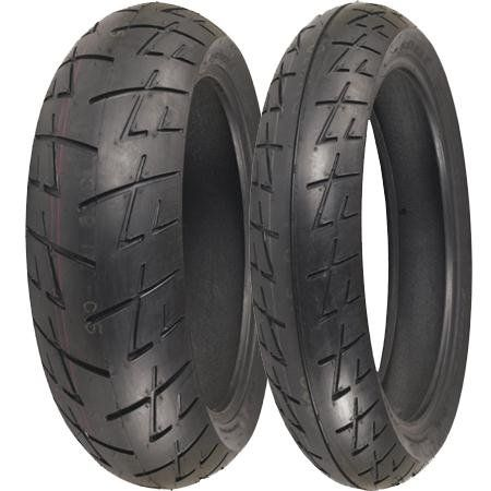 Shinko 009 Raven Radial Tire - Rear - 160/60ZR17 , Position: Rear, Tire Size: 160/60-17, Rim Size: 17, Speed Rating: W, Tire Type: Street, Tire Construction: Radial, Tire Application: Sport, Load Rating: 69 XF87-4045
