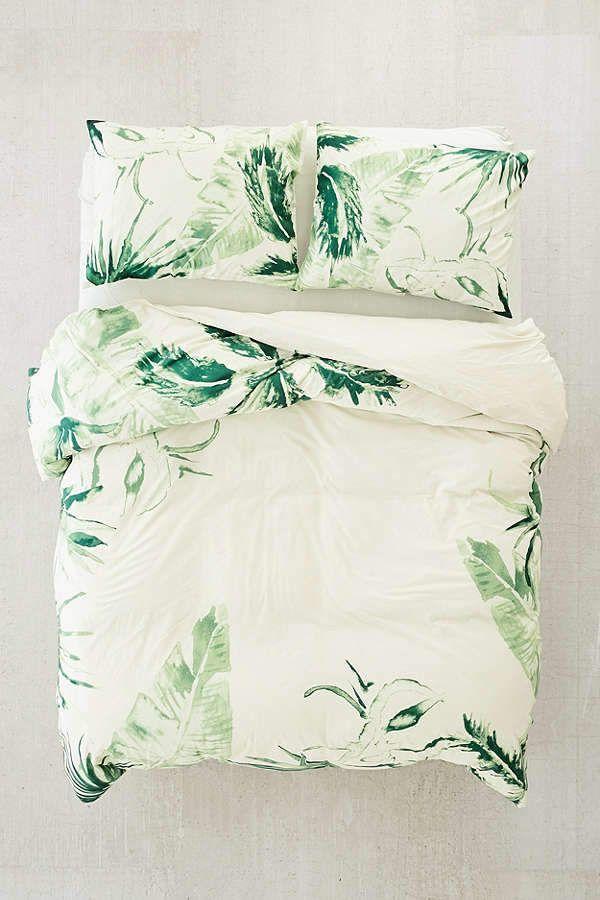Dream Fun Copripiumino.Urban Outfitters Expressive Palms Duvet Cover Home Stuff I Like