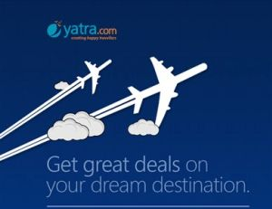 (Back) Yatra  Get Rs.750 discount on minimum domestic flight booking of Rs.3000  get 5% extra off