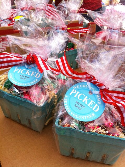 Party favors at a Volunteer Party #party #favors