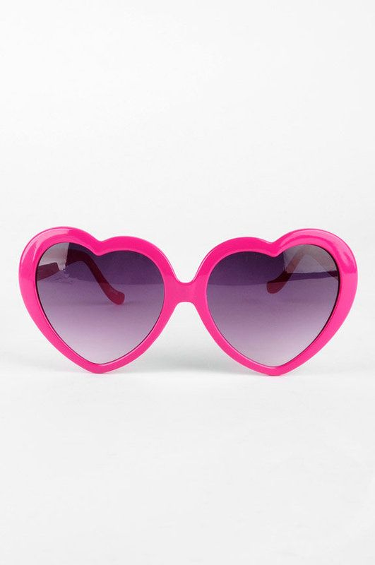 heart shaped sunglasses 2017