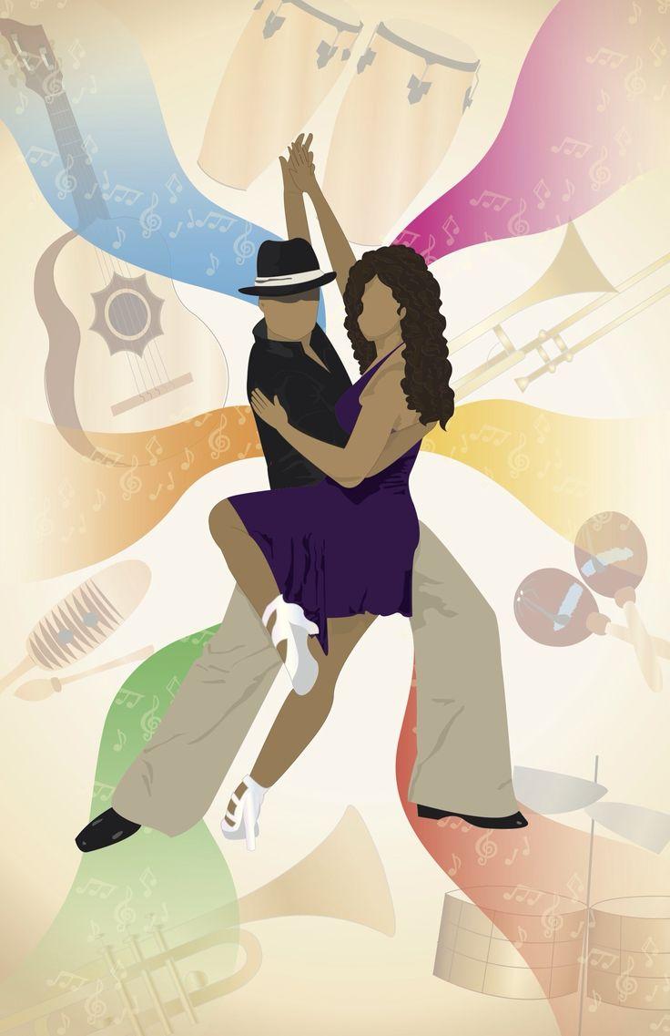 Latin - Minimalist Music Styles Posters -