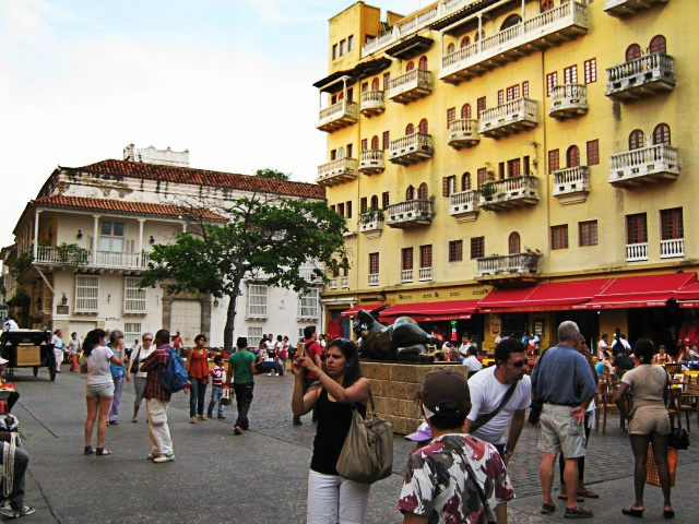 Plaza Santo Domingo - Cartagena