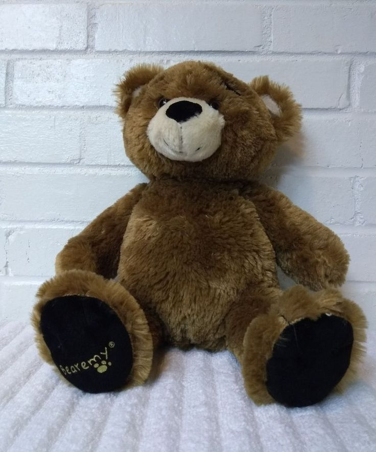 Build a Bear Bearemy Brown Bear Stuffed Animal Plush Toy                   (A29) #BuildABearWorkshop