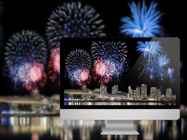 Animated Fireworks | Animated Fireworks . Available in 1920×1080 .