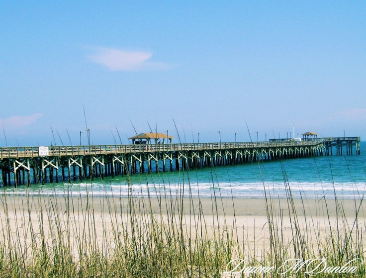 My favorite pier to take photos springmaid pier myrtle for Fishing piers in myrtle beach