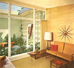 Retro Interior Design, From Better Homes And Gardens, Ca.1962
