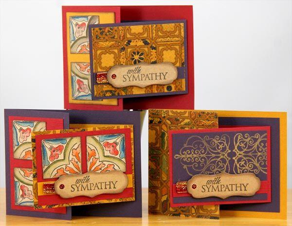 Moroccan Spice Club Stamp Cards - Club Scrap