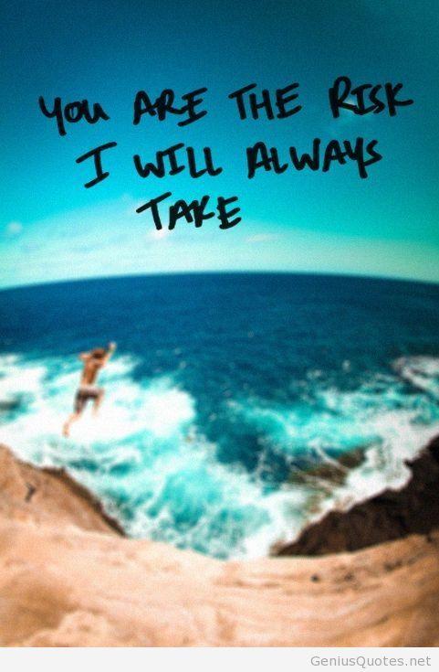 Take risks quote photo 2014