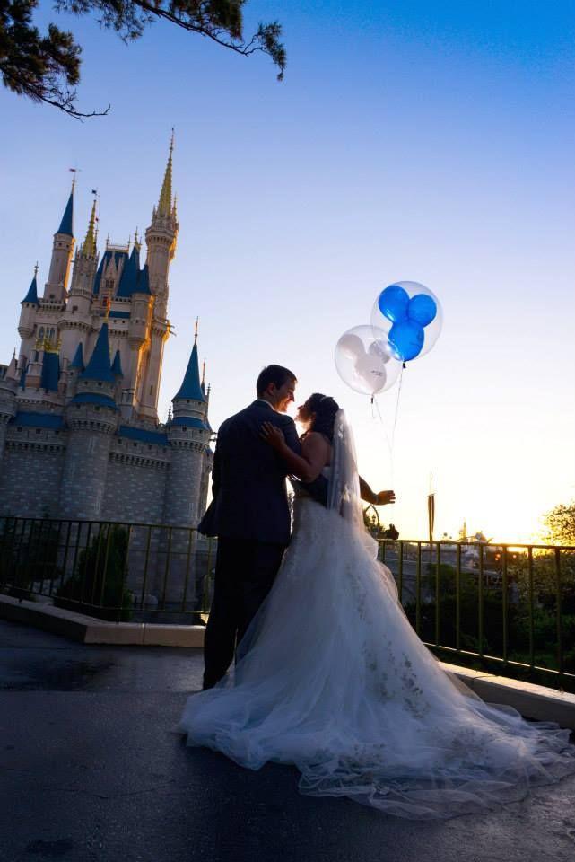 Disney Weddings Photography Magic Kingdom Bridal Portrait Session