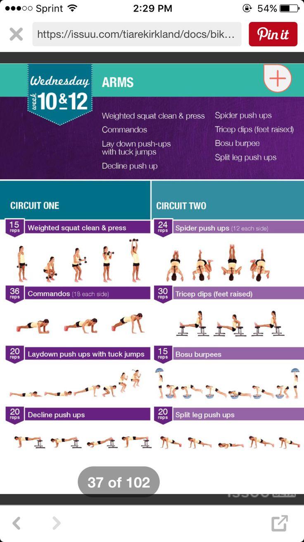 kayla 12 week workout plan pdf