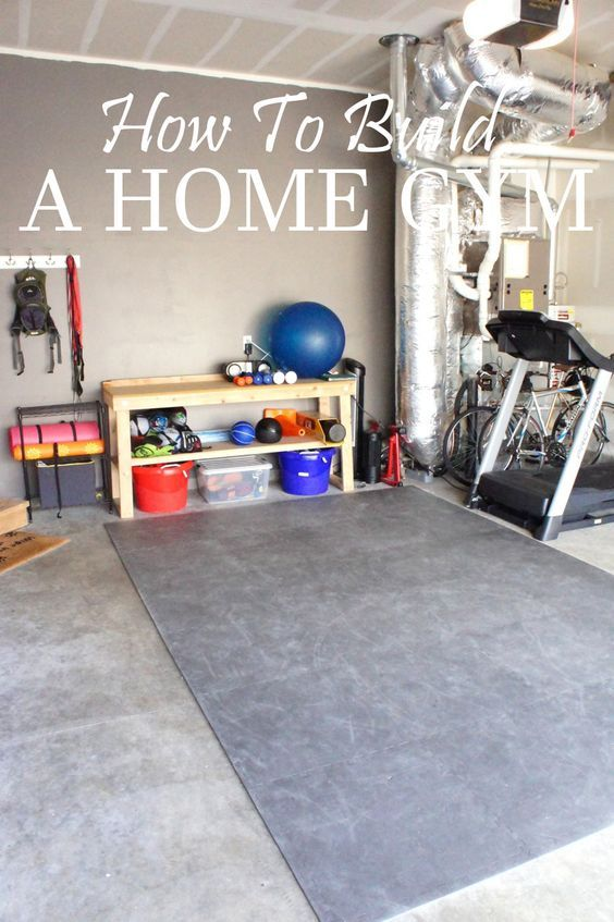 HOW TO BUILD A HOME GYM...I could do this. I still need to hang up my barre #sbffitforsall: