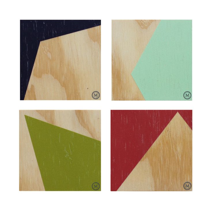 CLIFF EDGE - FOUR SEASONS These coasters in this bold and dynamic colour palette are a great addition to any coffee table! See our website for matching placemats also. Dimensions per Coaster: 100mm (w) x 100mm (h) x 9mm (d) $30 Set of 4 / $50 Set of 8