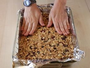 Barritas de cereales light  recetas fáciles