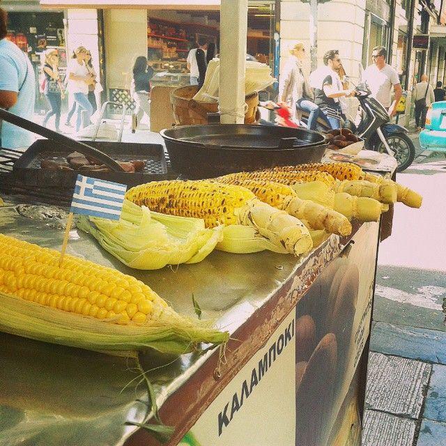 Greek Corn or Chestnuts?