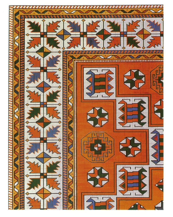 Republic of Turkey Ministry of Culture Turkish Handwoven Carpets Project - Pattern Nr.0001-1