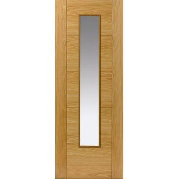 Jbk emral oak fire door clear glass 1 2 hour fire rated for 1 hr fire rated door