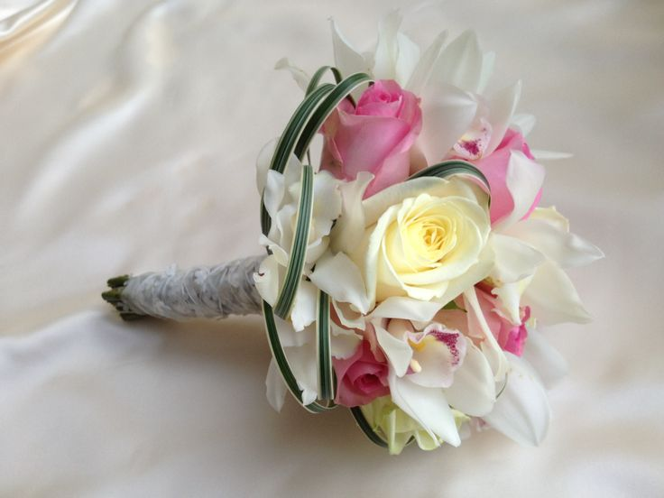 Pink and white bridal bouquet. Chanan's Floral Events