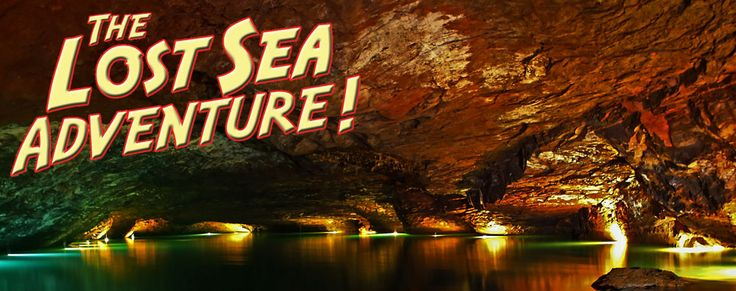 In Sweetwater, TN- The Lost Sea takes you underground starting with a bright yellow tunnel with a guided tour in the caverns and then on a boat along an underwater lake!