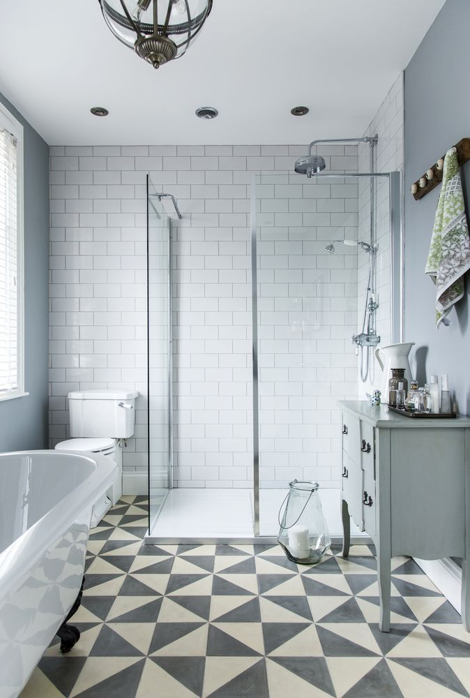 how one couple made their small bathroom bigger home bathroom rh pinterest com