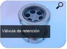 Comercialización de válvula de retención  normados  S/S y fabricación especiales en distinto materiales   y de acuerdo a las aplicaciones que este requiera.   Estas se encuentran  en distintas dimensiones  DN 12 20 28 50 100.