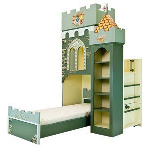 Детская кровать замок