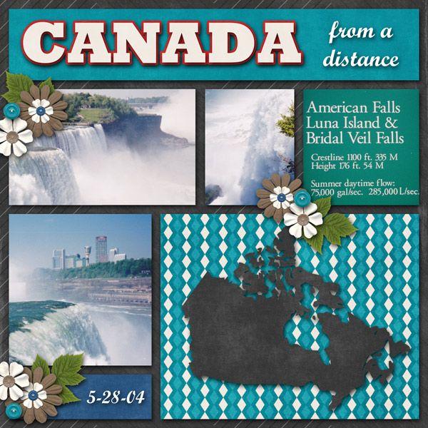 22 best Canada images on Pinterest  Scrapbook layouts Scrapbook page layouts and Scrapbooking