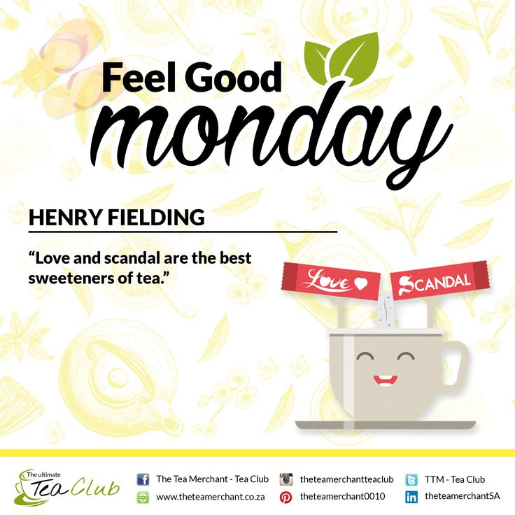 #feelgoodmonday #henryfielding