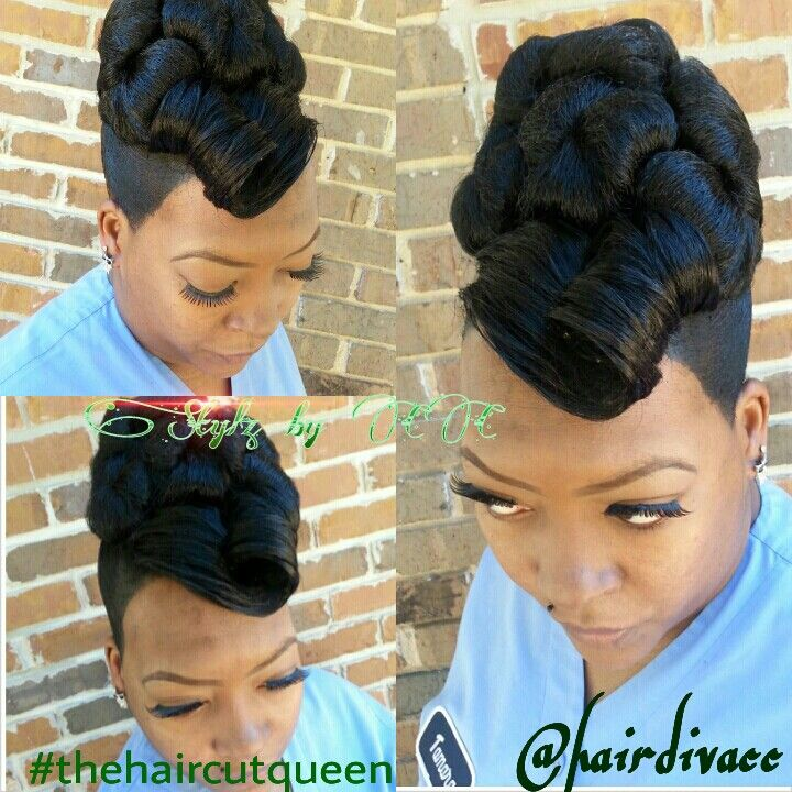 Brilliant 1000 Images About Up Dos On Pinterest Pin Up Protective Styles Hairstyle Inspiration Daily Dogsangcom