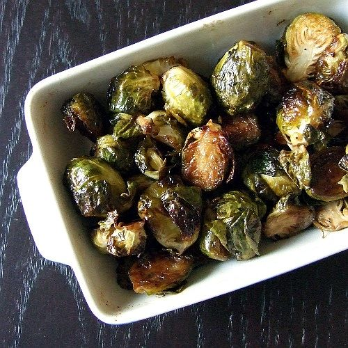 Maple Dijon Brussels Sprouts [The Copycat Cook]