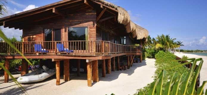 Casa Vela in Playa del Carmen- book this #vacation villa, right on the beach