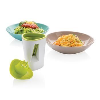 AFFETTATRICE A SPIRALE mod.P262.777  Indispensabile attrezzo per affettare le verdure. Crea patatine e insalate in modo semplice e veloce. Crea spirali di verdura quali carote, zucchine, ravanelli e altro.