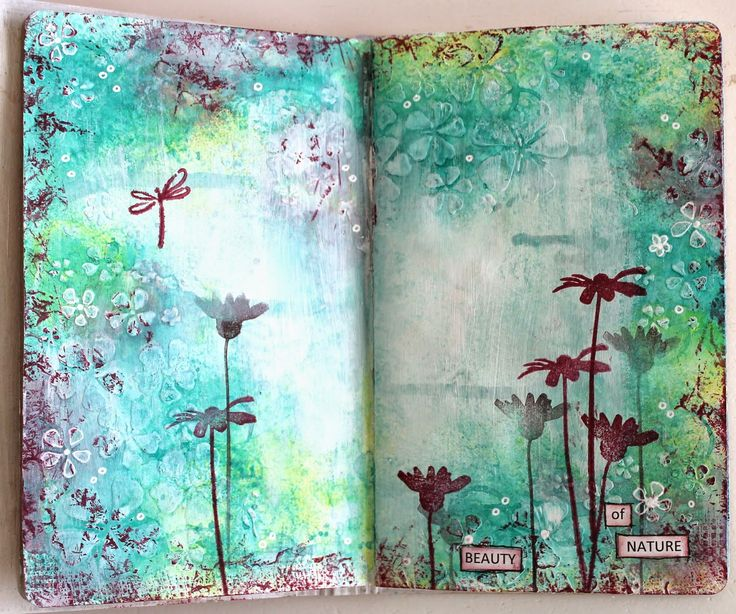 Ingrid's place: art journal pages *13arts*                                                                                                                                                     More