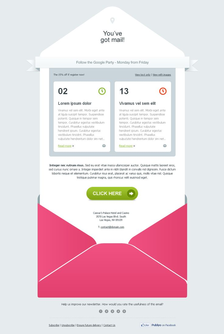 17 Tips To Design Email Templates That Are Inbox-Optimized ! Guest Article by emailchopper.com