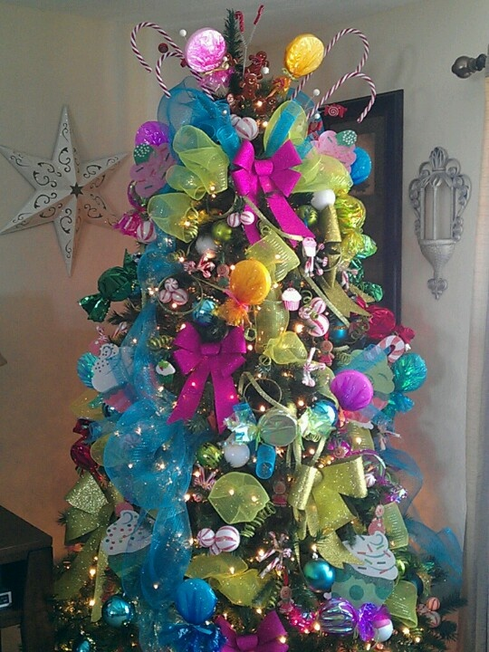 images about Candy Christmas Tree Themed